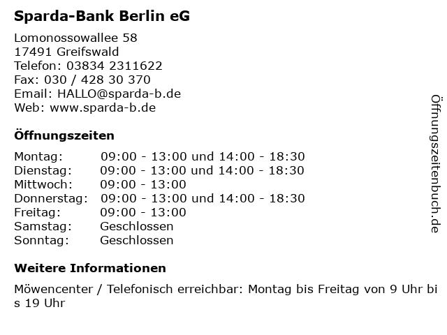 Sparda Bank Greifswald