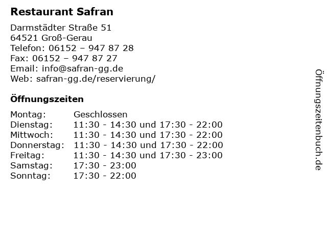 safran groß-gerau
