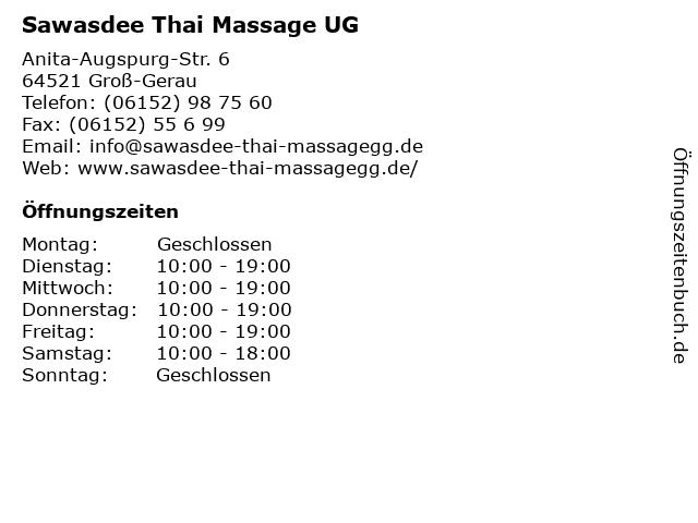 Wandee thai massage