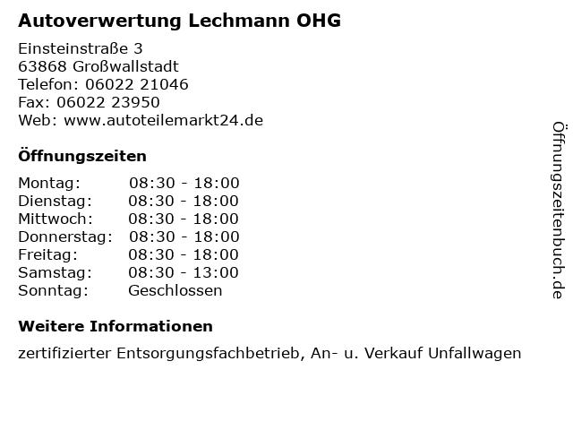 Lechmann Weiterstadt
