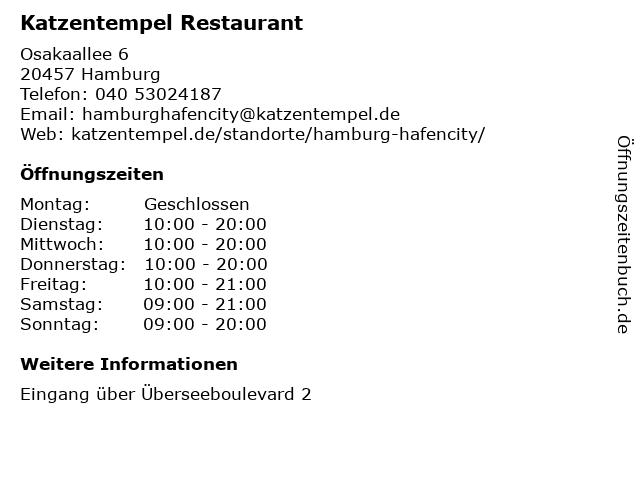 Asia Restaurant mamson in Hamburg: Adresse und Öffnungszeiten