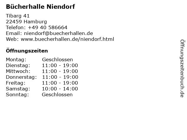 Bücherhalle Niendorf in Hamburg: Adresse und Öffnungszeiten