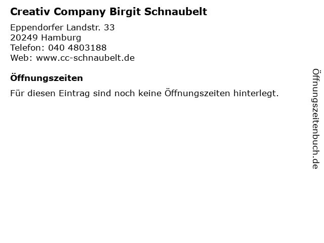 Creativ Company Birgit Schnaubelt in Hamburg: Adresse und Öffnungszeiten