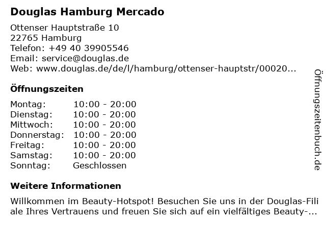 Parfümerie Douglas Hamburg Ottensen in Hamburg: Adresse und Öffnungszeiten
