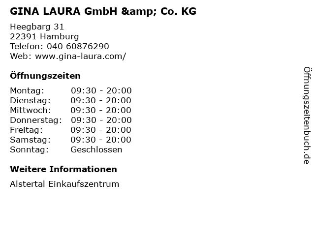 GINA LAURA GmbH & Co. KG in Hamburg: Adresse und Öffnungszeiten