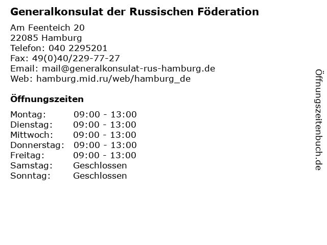 Generalkonsulat der russischen föderation