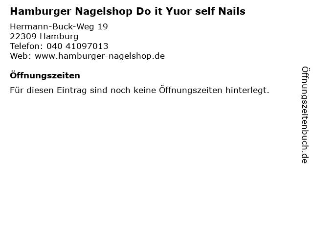 Hamburger Nagelshop Do it Yuor self Nails in Hamburg: Adresse und Öffnungszeiten