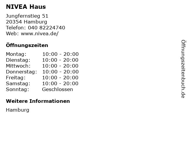 NIVEA Haus in Hamburg: Adresse und Öffnungszeiten