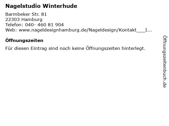 Nagelstudio Winterhude in Hamburg: Adresse und Öffnungszeiten