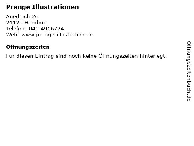 Prange Illustrationen in Hamburg: Adresse und Öffnungszeiten