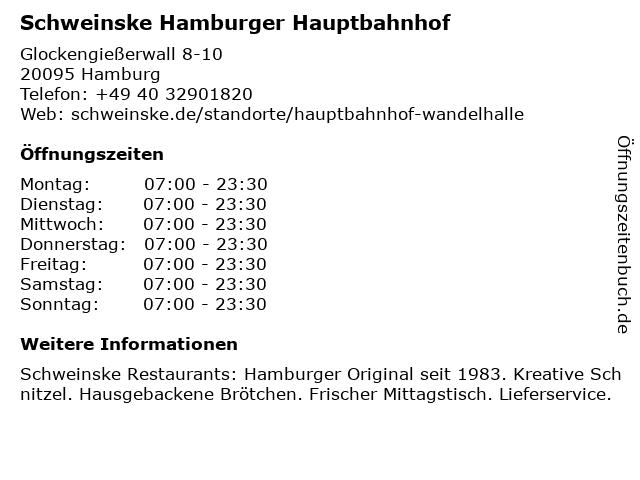 Hauptbahnhof Apotheke in Hamburg: Adresse und Öffnungszeiten