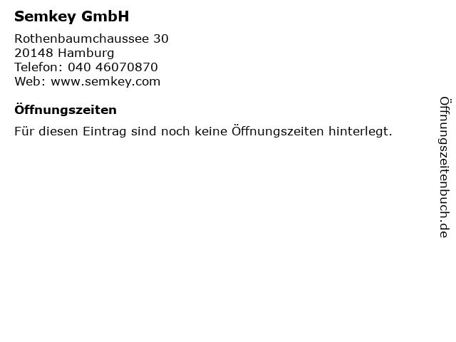 Semkey GmbH in Hamburg: Adresse und Öffnungszeiten