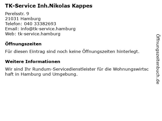 TK-Service Hamburg in Hamburg: Adresse und Öffnungszeiten
