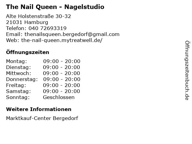 The Nail Queen in Hamburg: Adresse und Öffnungszeiten