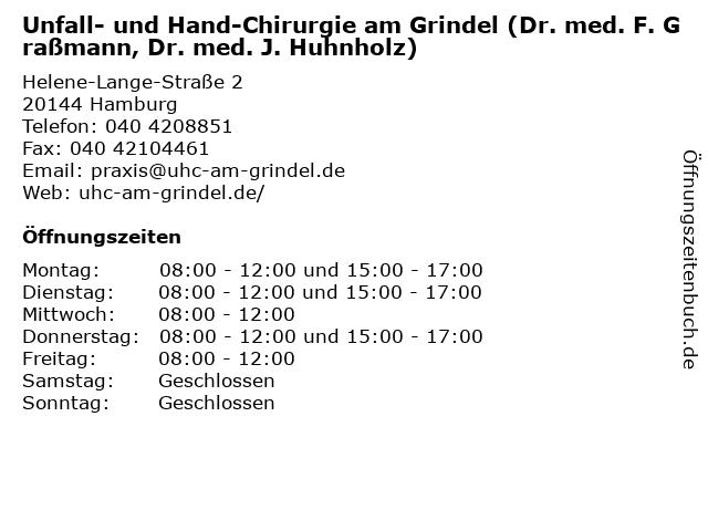 Dr. Huhnholz Hamburg
