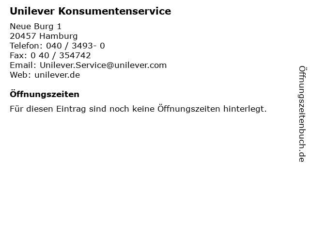 Unilever fabrikverkauf hamburg