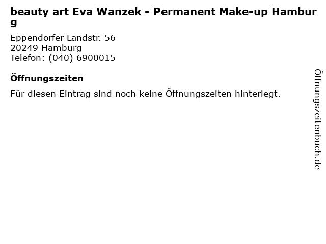 beauty art Eva Wanzek - Permanent Make-up Hamburg in Hamburg: Adresse und Öffnungszeiten