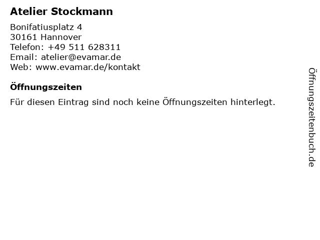 Atelier Stockmann in Hannover: Adresse und Öffnungszeiten