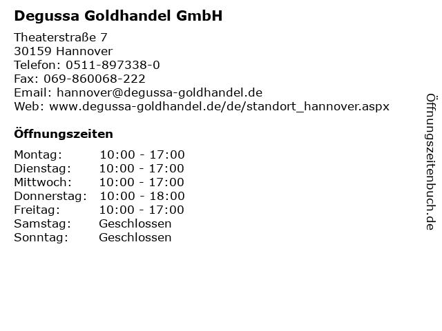 degussa goldankauf