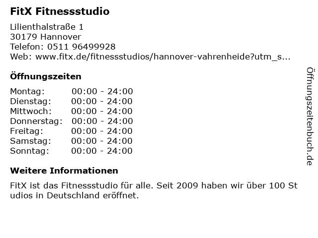 Fitx fitnessstudio löwenhof bremen
