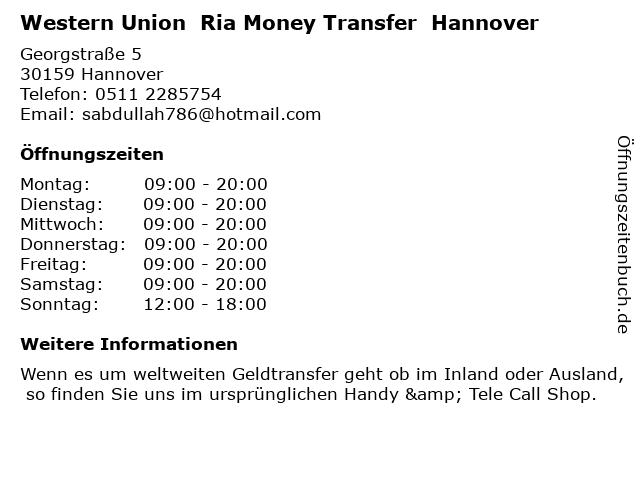 ria money transfer in der nähe