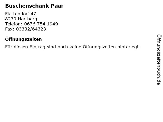 ᐅ öffnungszeiten Buschenschank Paar Flattendorf 47 In Hartberg