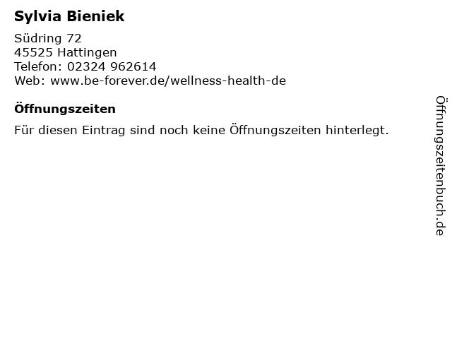 Sylvia Bieniek in Hattingen: Adresse und Öffnungszeiten