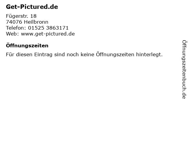 Get-Pictured.de in Heilbronn: Adresse und Öffnungszeiten