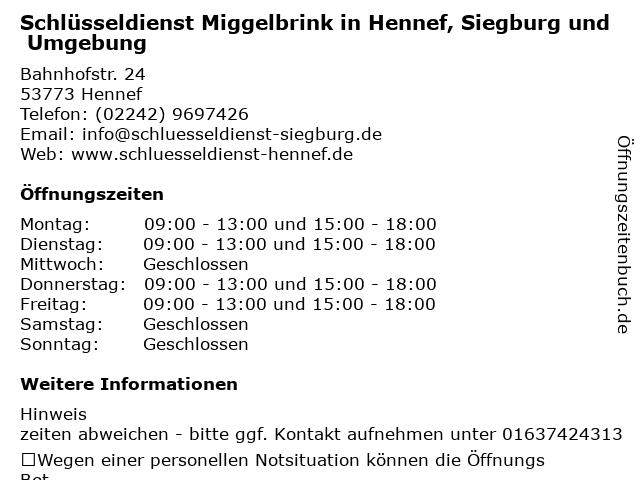 ᐅ Offnungszeiten Wilfried Miggelbrink Schuhreparatur Und
