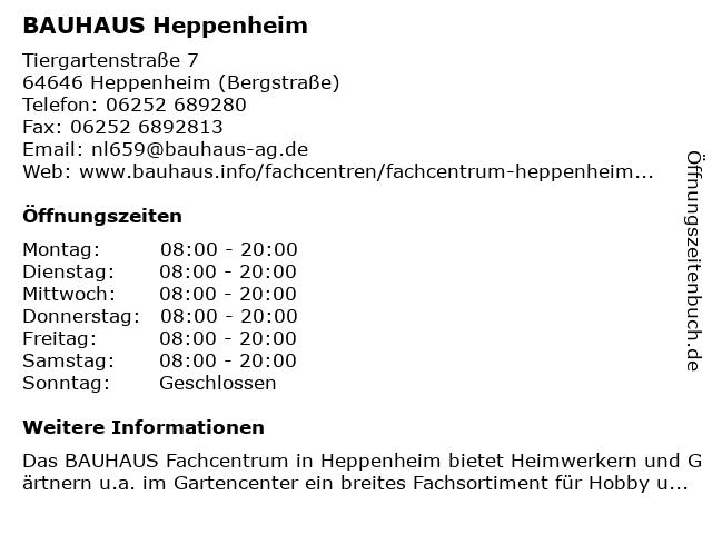 Bauhaus Heppenheim