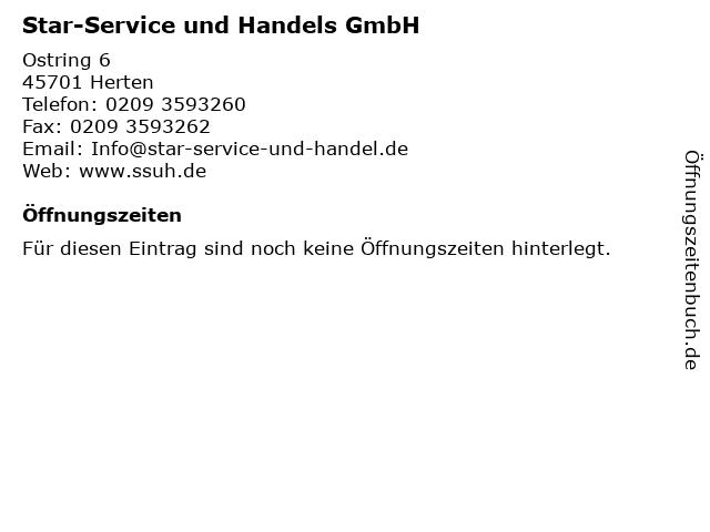 Star-Service und Handels GmbH in Herten: Adresse und Öffnungszeiten