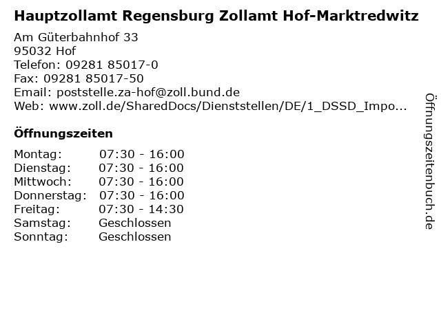 Regensburg Zollamt