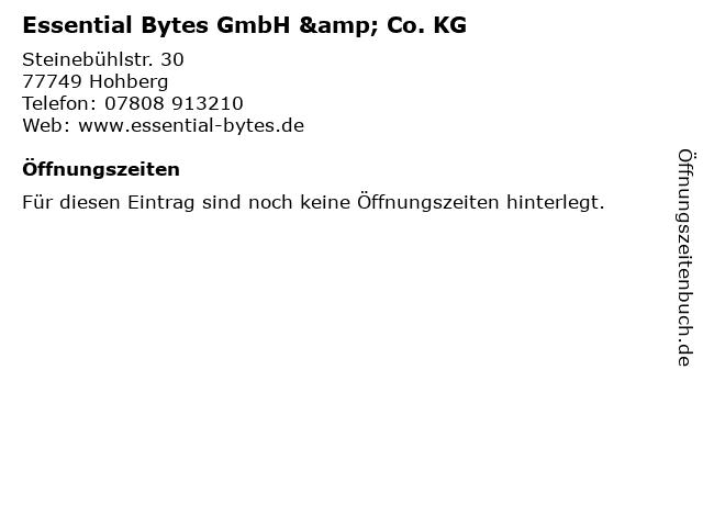 Essential Bytes GmbH & Co. KG in Hohberg: Adresse und Öffnungszeiten