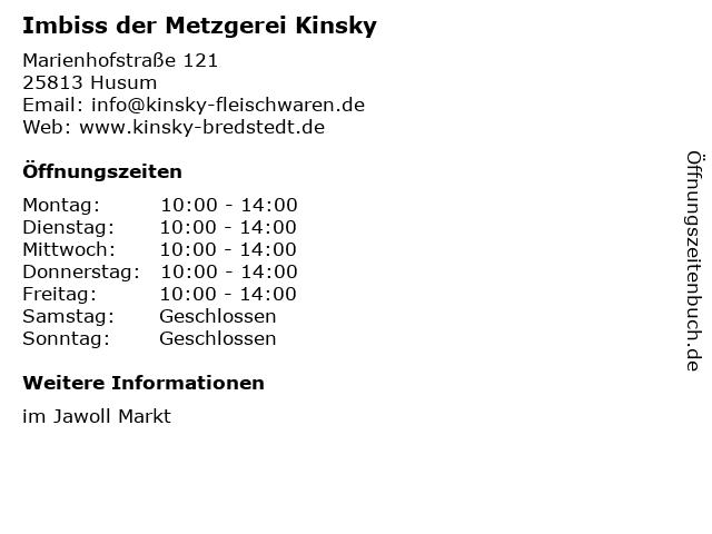 mittagstisch kinsky