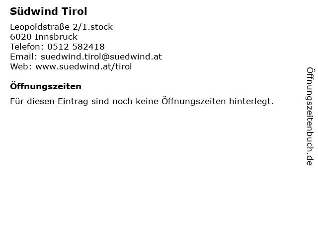 Südwind Tirol Nord-Süd-Bibliothek in Innsbruck: Adresse und Öffnungszeiten