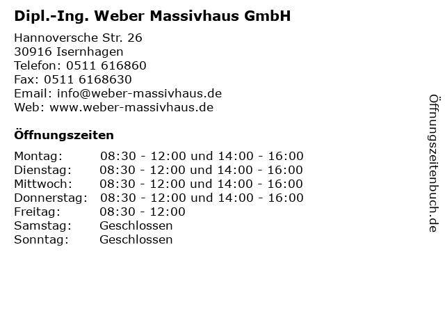 Weber massivhaus