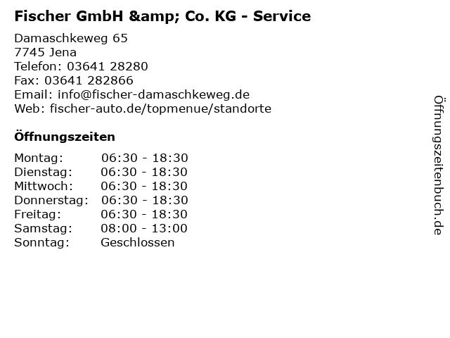 Fischer GmbH & Co. KG - Service in Jena: Adresse und Öffnungszeiten