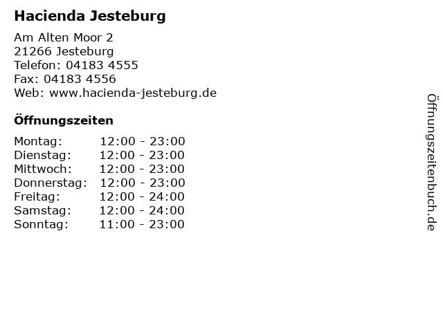 Hacienda Jesteburg in Jesteburg: Adresse und Öffnungszeiten