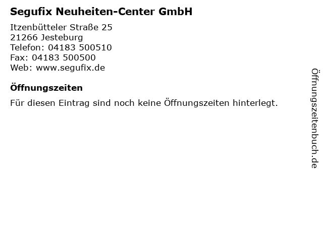 Segufix Neuheiten-Center GmbH in Jesteburg: Adresse und Öffnungszeiten