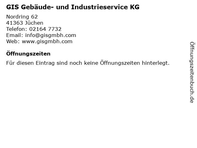 GIS Gebäude- und Industrieservice KG in Jüchen: Adresse und Öffnungszeiten
