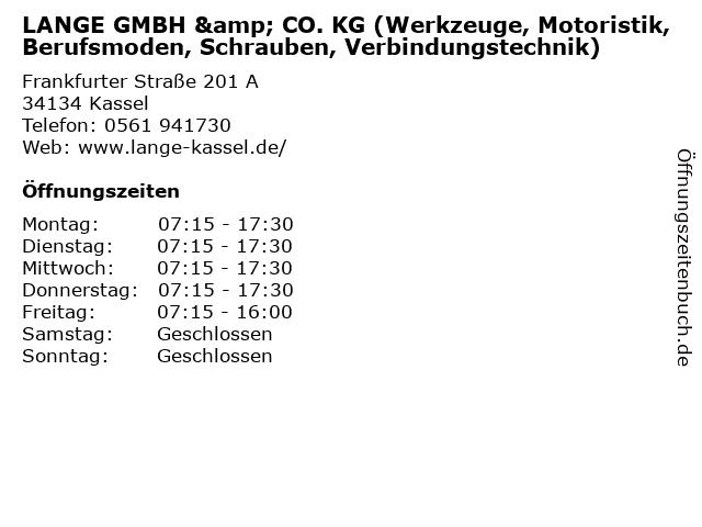Schrauben Lange Kassel