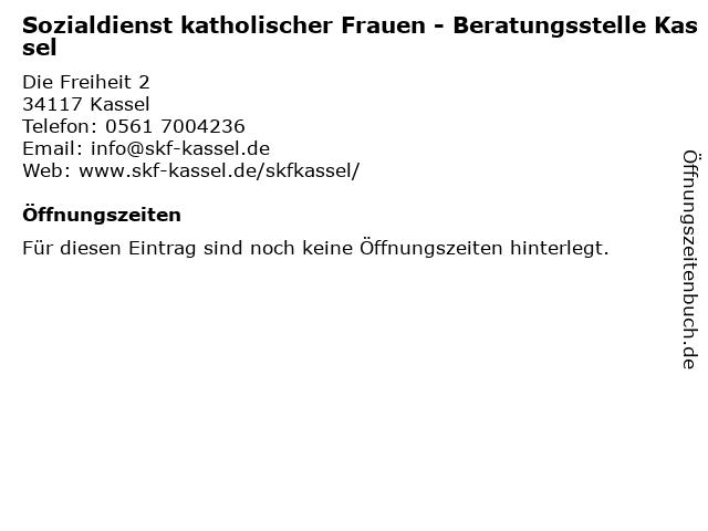 Kath. Kirche Kassel - Sozialdienst katholischer Frauen (SkF) in Kassel: Adresse und Öffnungszeiten