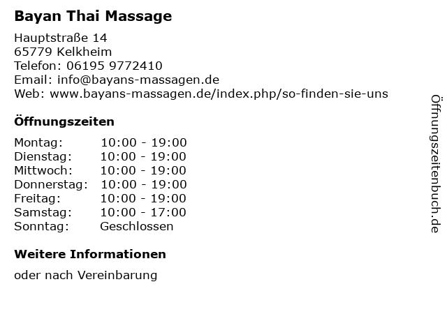 Erotische massage deutschland