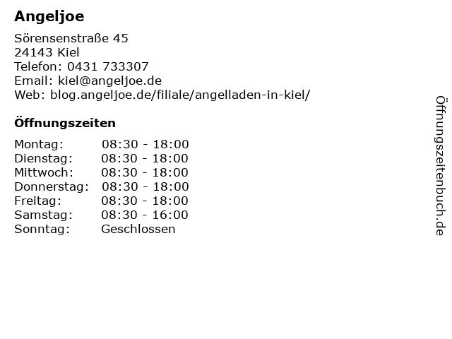 Angeljoe in Kiel: Adresse und Öffnungszeiten