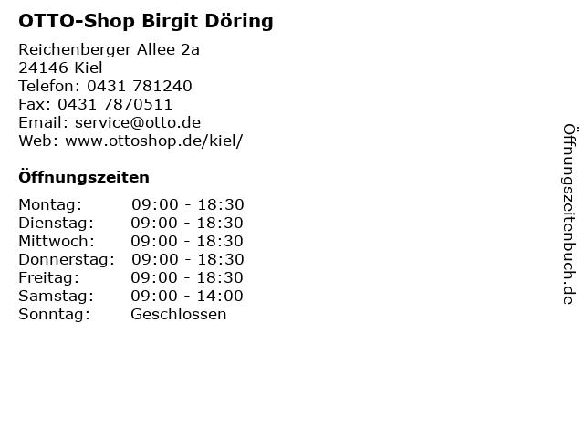 OTTO-Shop Birgit Döring in Kiel: Adresse und Öffnungszeiten