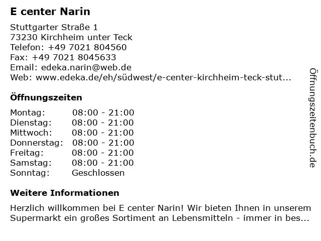 AWG Mode Center in Kirchheim: Adresse und Öffnungszeiten