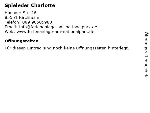 Spieleder Charlotte in Kirchheim: Adresse und Öffnungszeiten