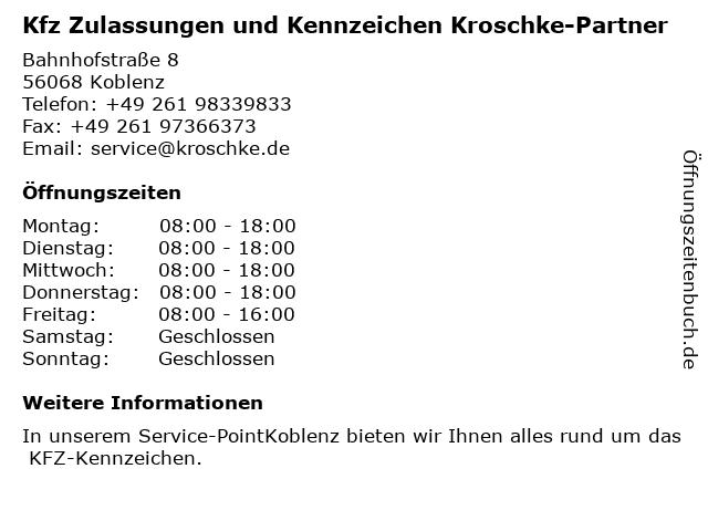 Schlüsseldienst Koblenz in Koblenz: Adresse und Öffnungszeiten
