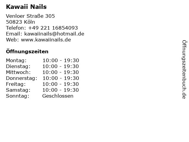 kawaii nails köln