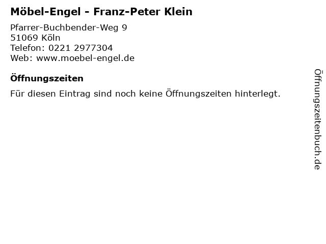 ᐅ öffnungszeiten Möbel Engel Franz Peter Klein Pfarrer